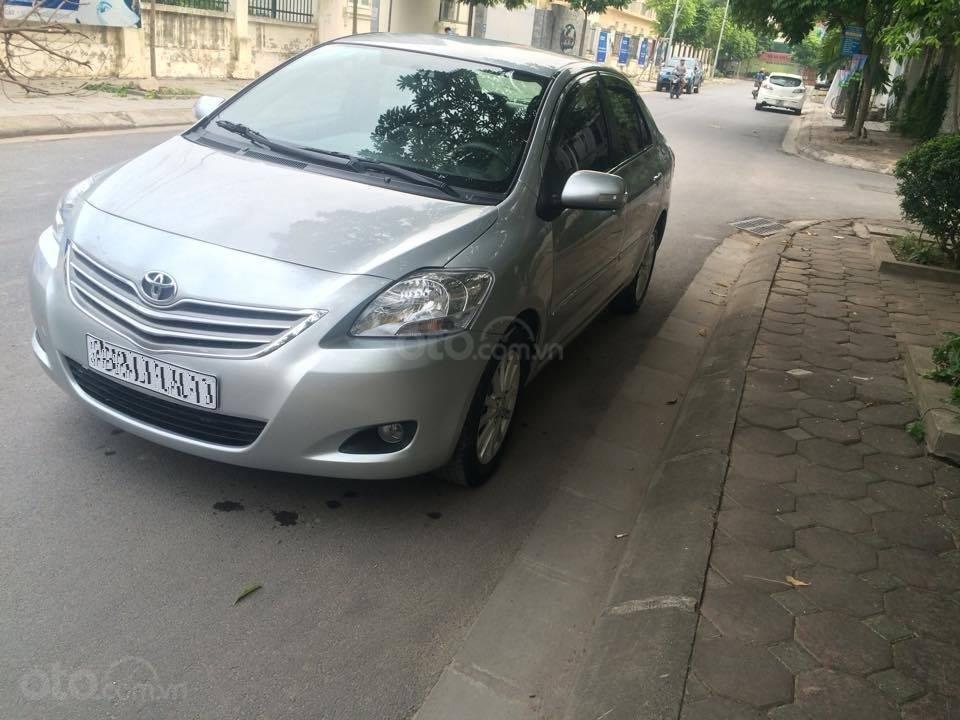 Cô Xuân cần bán Vios 1.5E 2013 màu bạc, biển Hà Nội (3)
