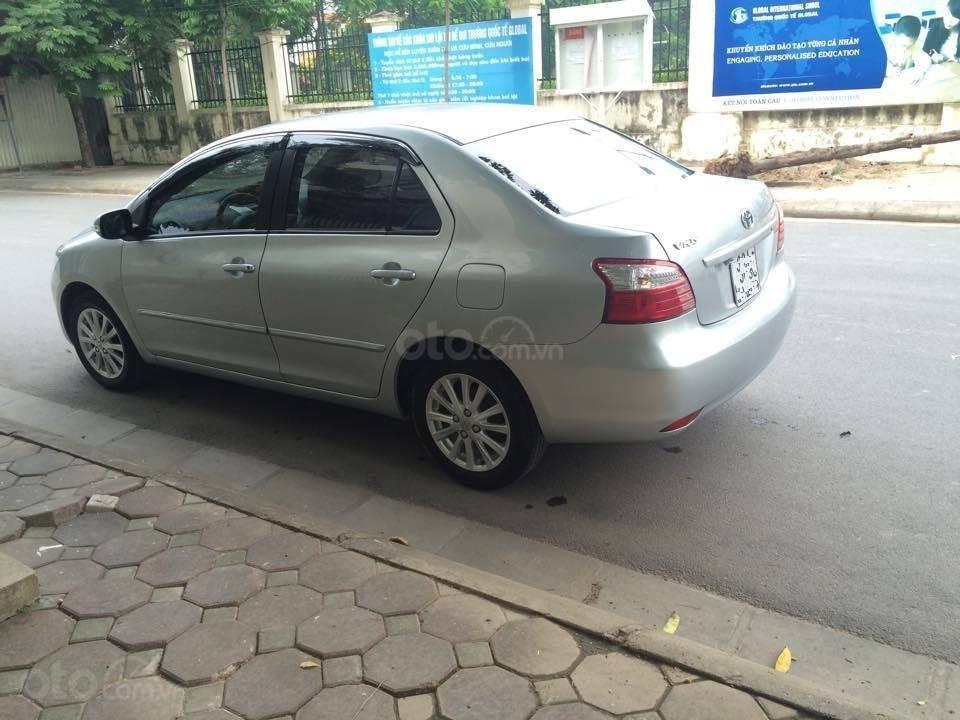 Cô Xuân cần bán Vios 1.5E 2013 màu bạc, biển Hà Nội (4)