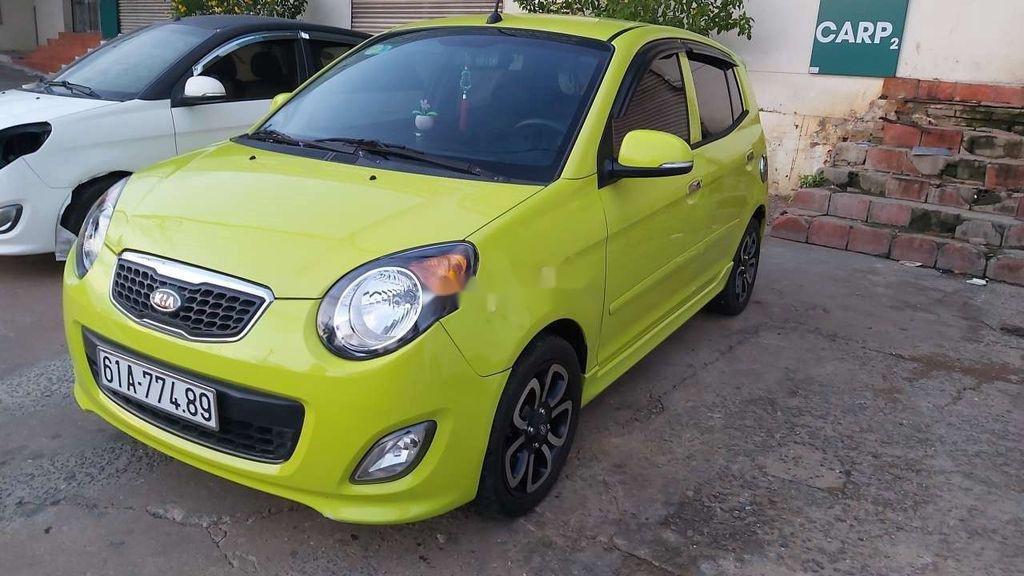 Cần bán Kia Morning 2009, màu vàng chanh, nhập khẩu nguyên chiếc (2)