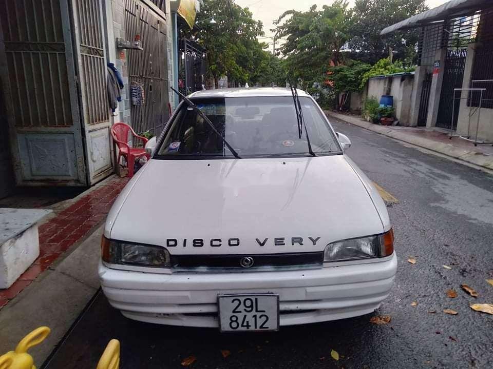 Bán Mazda 323 đời 1995, màu trắng, nhập khẩu nguyên chiếc (4)
