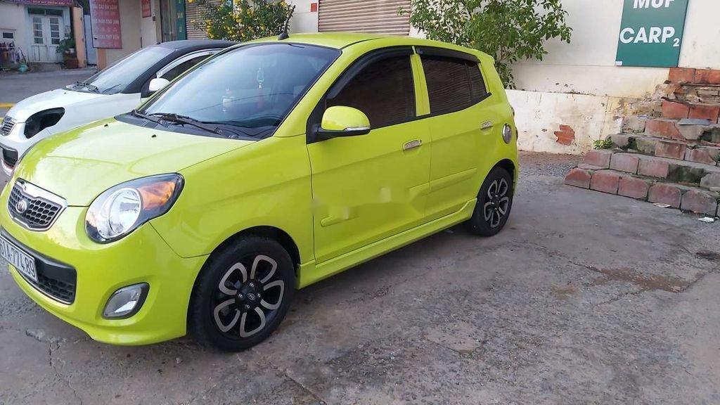 Cần bán Kia Morning 2009, màu vàng chanh, nhập khẩu nguyên chiếc (4)