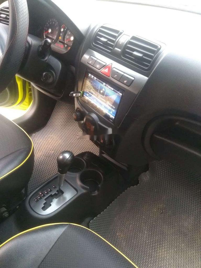 Bán ô tô Kia Morning sản xuất 2009, màu vàng, xe nhập  (2)