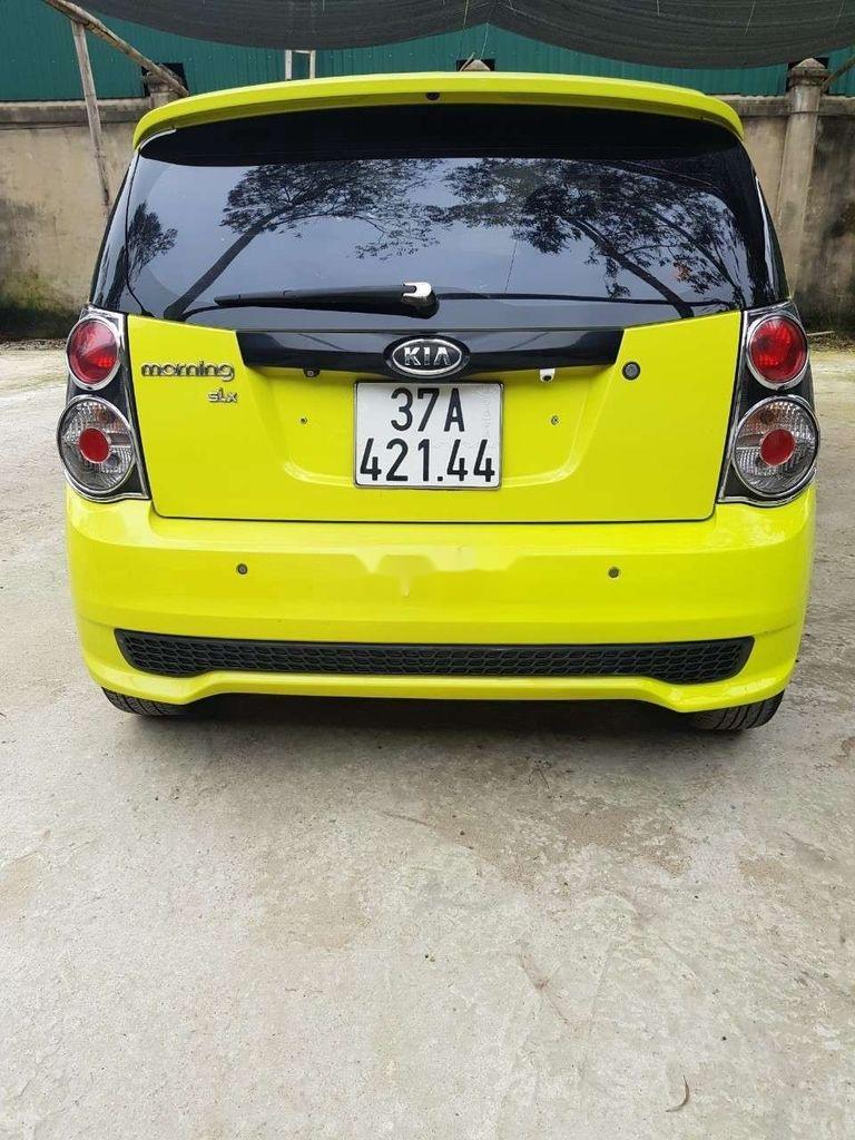 Bán ô tô Kia Morning sản xuất 2009, màu vàng, xe nhập  (6)