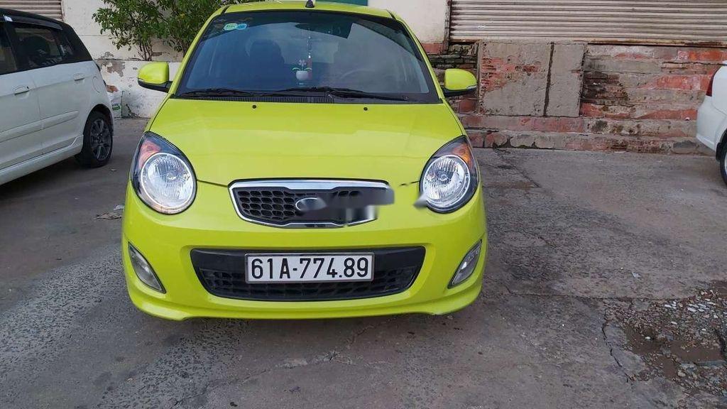 Cần bán Kia Morning 2009, màu vàng chanh, nhập khẩu nguyên chiếc (1)