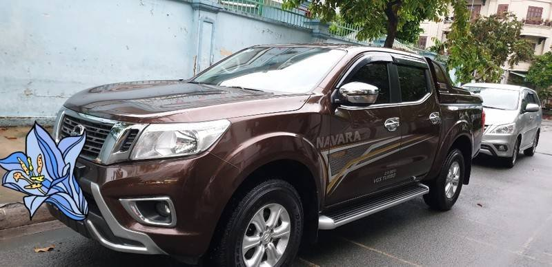 Cần bán gấp Nissan Navara EL Premium đời 2019, màu nâu, nhập khẩu nguyên chiếc   (2)