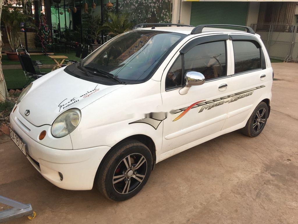 Bán ô tô Daewoo Matiz đời 2003, màu trắng (12)