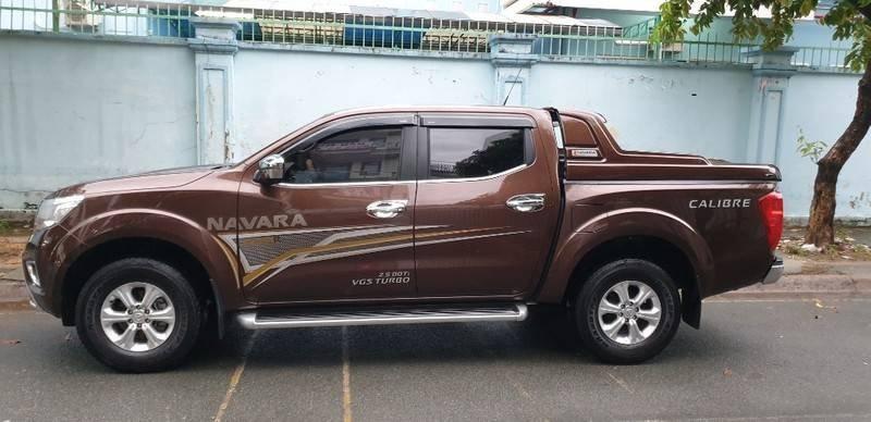 Cần bán gấp Nissan Navara EL Premium đời 2019, màu nâu, nhập khẩu nguyên chiếc   (12)
