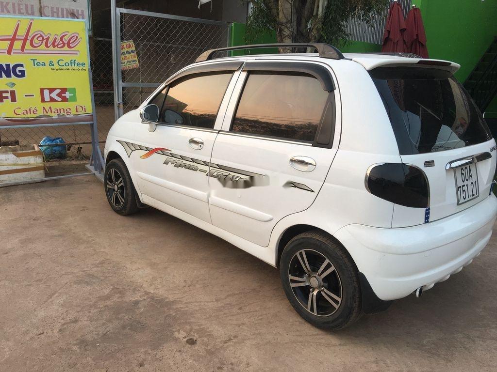 Bán ô tô Daewoo Matiz đời 2003, màu trắng (2)