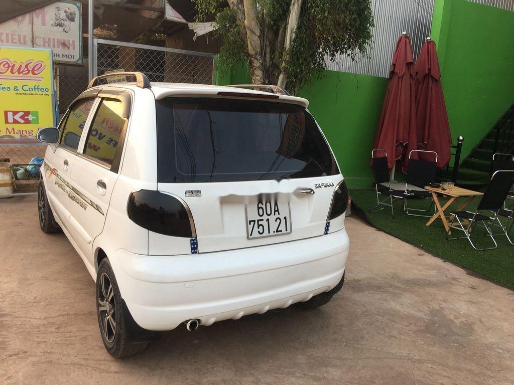 Bán ô tô Daewoo Matiz đời 2003, màu trắng (1)