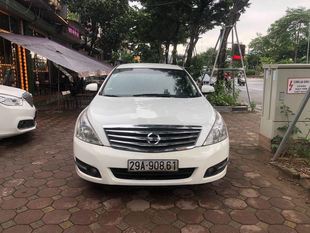 Bán Nissan Teana 2009, màu trắng, nhập khẩu nguyên chiếc, giá chỉ 355 triệu (1)