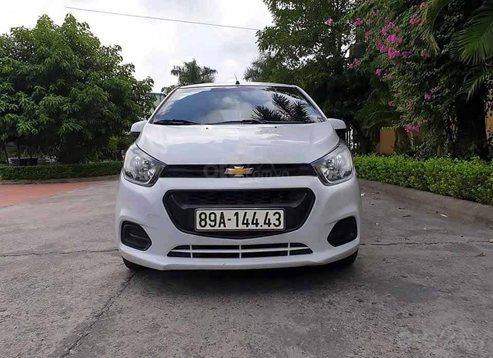 Cần bán Chevrolet Spark LS 1.2 MT 2018, màu trắng còn mới (3)