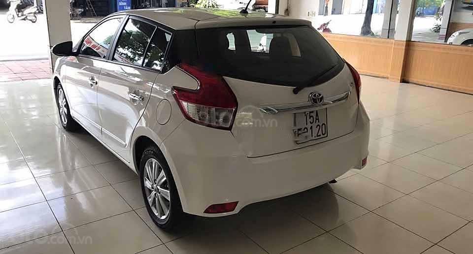 Xe Toyota Yaris G đời 2016, màu trắng, nhập khẩu nguyên chiếc  (5)