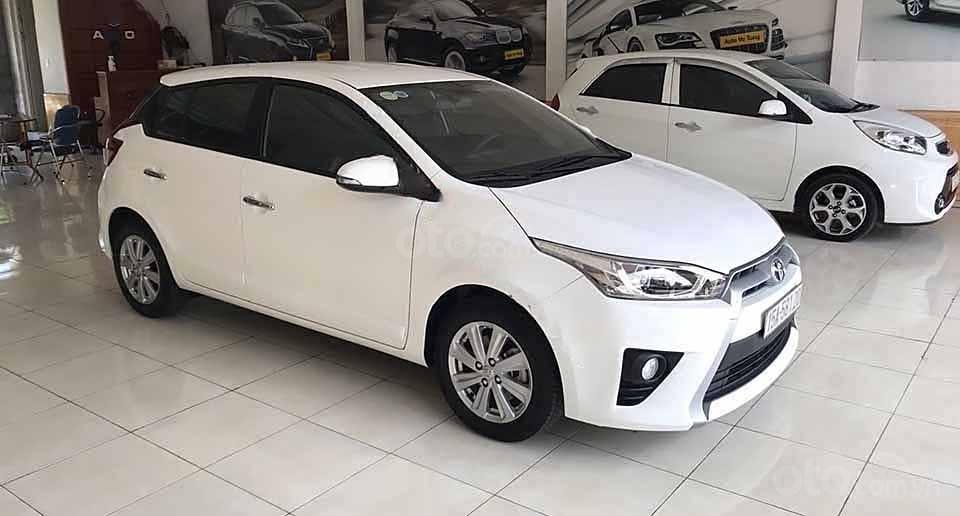 Xe Toyota Yaris G đời 2016, màu trắng, nhập khẩu nguyên chiếc  (2)