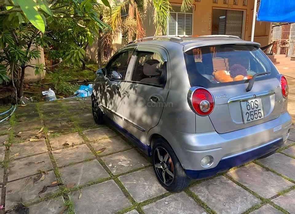 Cần bán Daewoo Matiz đời 2009, màu bạc, xe nhập còn mới  (2)