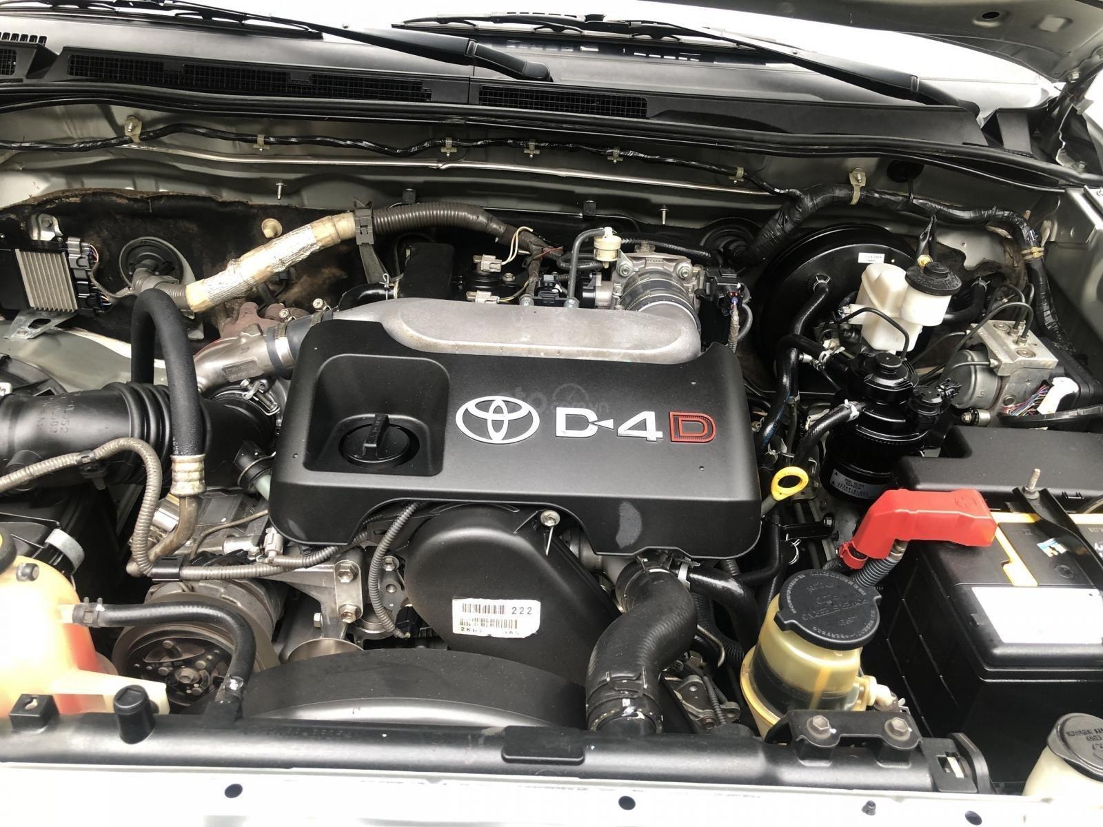 Gia Hưng Auto bán xe Toyota Fortuner 2.5G máy dầu, màu bạc SX 2009 (6)