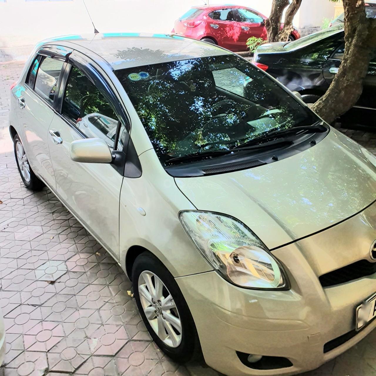 Cần bán Toyota Yaris sản xuất 2010, giá 336tr (1)