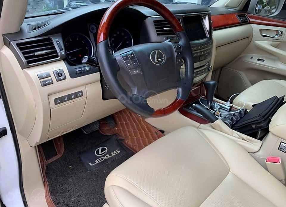 Bán xe Lexus LX năm 2007, màu trắng, nhập khẩu nguyên chiếc còn mới (3)