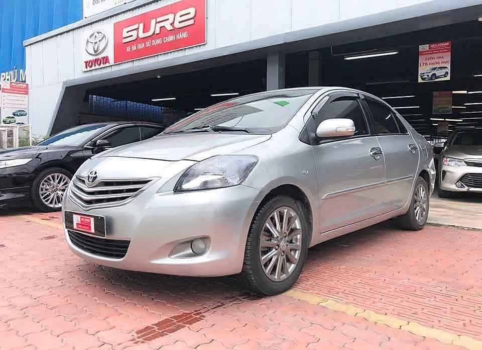Cần bán Toyota Vios 1.5G sản xuất 2012, màu bạc còn mới  (1)