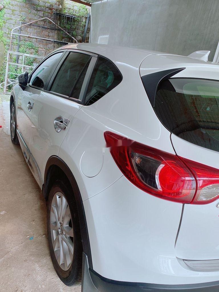 Bán xe Mazda CX 5 năm sản xuất 2015, màu trắng xe gia đình giá cạnh tranh (3)