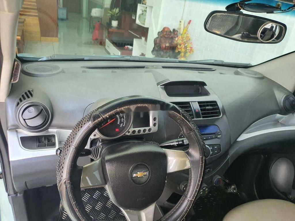 Xe Chevrolet Spark sản xuất 2011, màu xanh lam, nhập khẩu nguyên chiếc còn mới, giá chỉ 164 triệu (5)