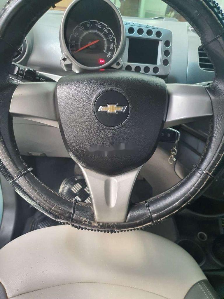 Xe Chevrolet Spark sản xuất 2011, màu xanh lam, nhập khẩu nguyên chiếc còn mới, giá chỉ 164 triệu (7)