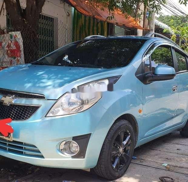 Xe Chevrolet Spark sản xuất 2011, màu xanh lam, nhập khẩu nguyên chiếc còn mới, giá chỉ 164 triệu (1)