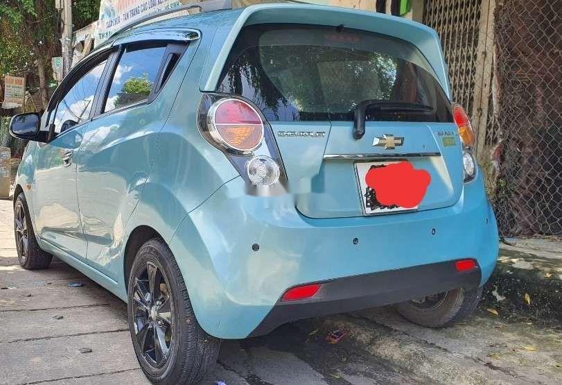 Xe Chevrolet Spark sản xuất 2011, màu xanh lam, nhập khẩu nguyên chiếc còn mới, giá chỉ 164 triệu (2)