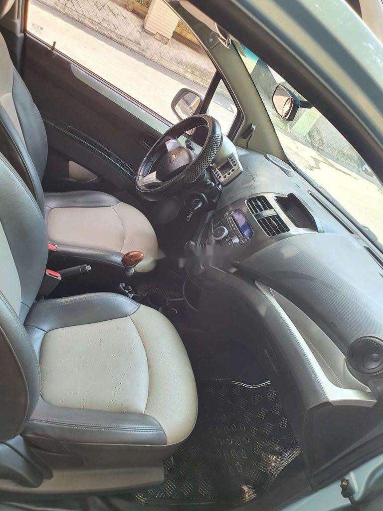 Xe Chevrolet Spark sản xuất 2011, màu xanh lam, nhập khẩu nguyên chiếc còn mới, giá chỉ 164 triệu (3)