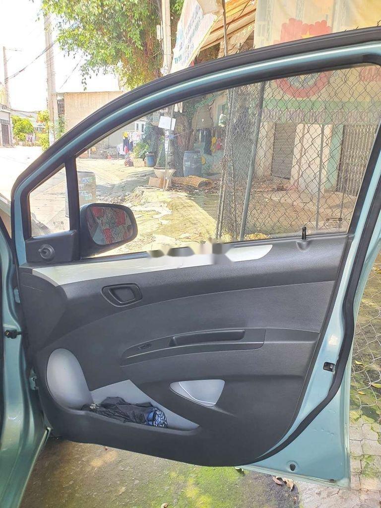 Xe Chevrolet Spark sản xuất 2011, màu xanh lam, nhập khẩu nguyên chiếc còn mới, giá chỉ 164 triệu (4)