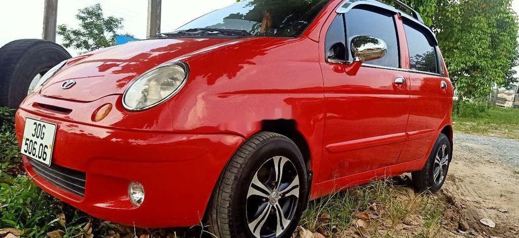 Cần bán Daewoo Lacetti sản xuất 2008, màu đỏ, 78tr (1)