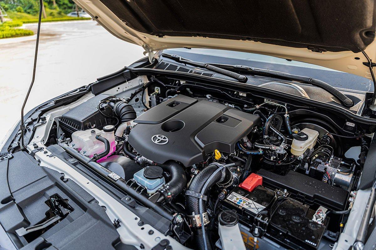 Động cơ xe Toyota Fortuner mới nhất.