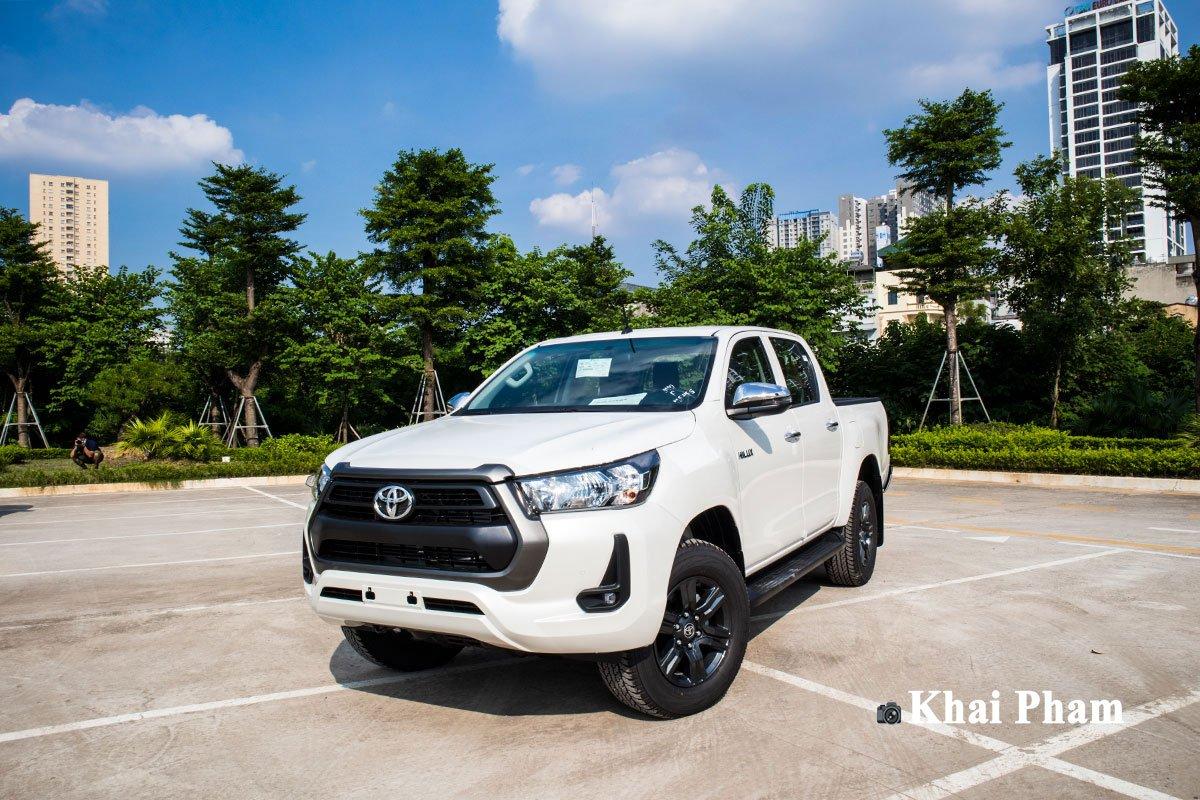 Ảnh Vận hành xe Toyota Hilux 2020