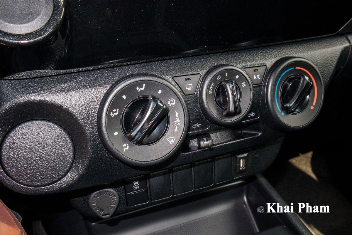 Ảnh Điều hòa xe Toyota Hilux 2020