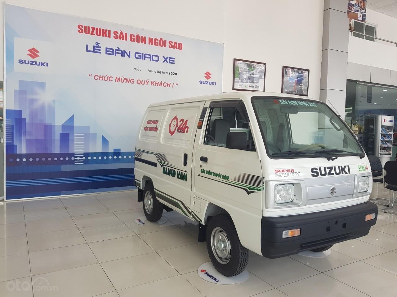 Cần bán xe Suzuki Blind Van sản xuất năm 2020 lưu thông giờ cao điểm. Khuyến mãi lớn 10Tr tiền mặt (1)