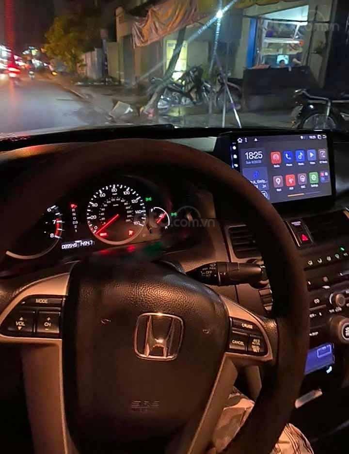Bán Honda Accord năm 2008, màu xám, nhập khẩu  (4)