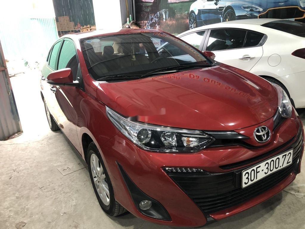 Cần bán xe Toyota Vios sản xuất 2018, màu đỏ còn mới (2)