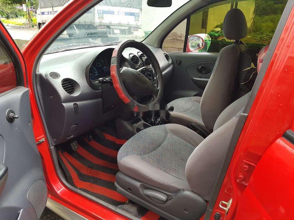 Bán ô tô Daewoo Matiz đời 2005, màu đỏ, nhập khẩu nguyên chiếc còn mới, giá 130tr (6)