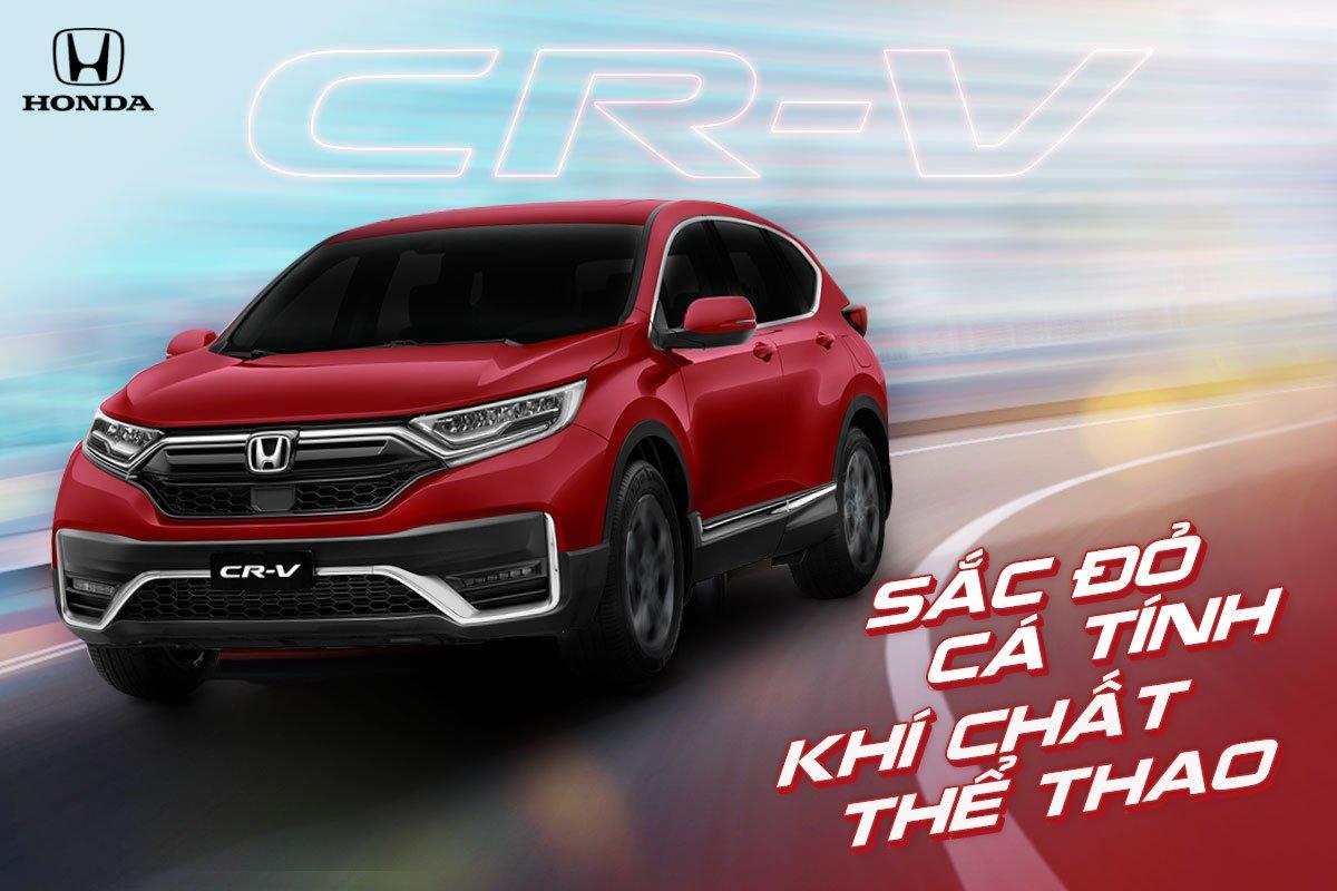 Honda CR-V 2020 thêm màu Đỏ cá tính, giá nhỉnh hơn 5 triệu đồng
