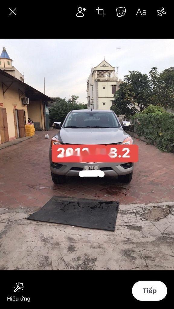 Bán ô tô Mazda BT 50 đời 2014, màu bạc, xe nhập (2)