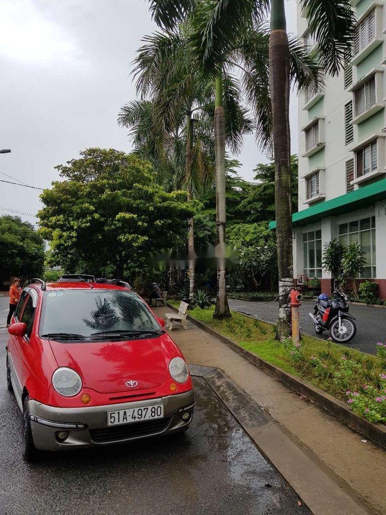 Bán ô tô Daewoo Matiz đời 2005, màu đỏ, nhập khẩu nguyên chiếc còn mới, giá 130tr (3)