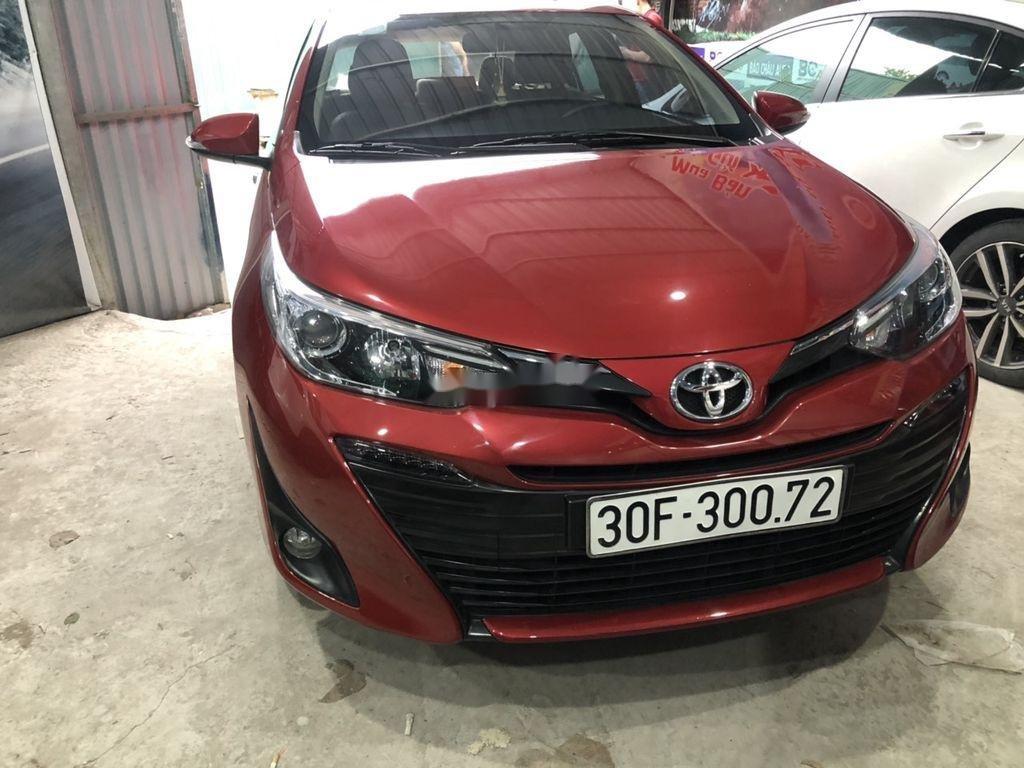 Cần bán xe Toyota Vios sản xuất 2018, màu đỏ còn mới (1)