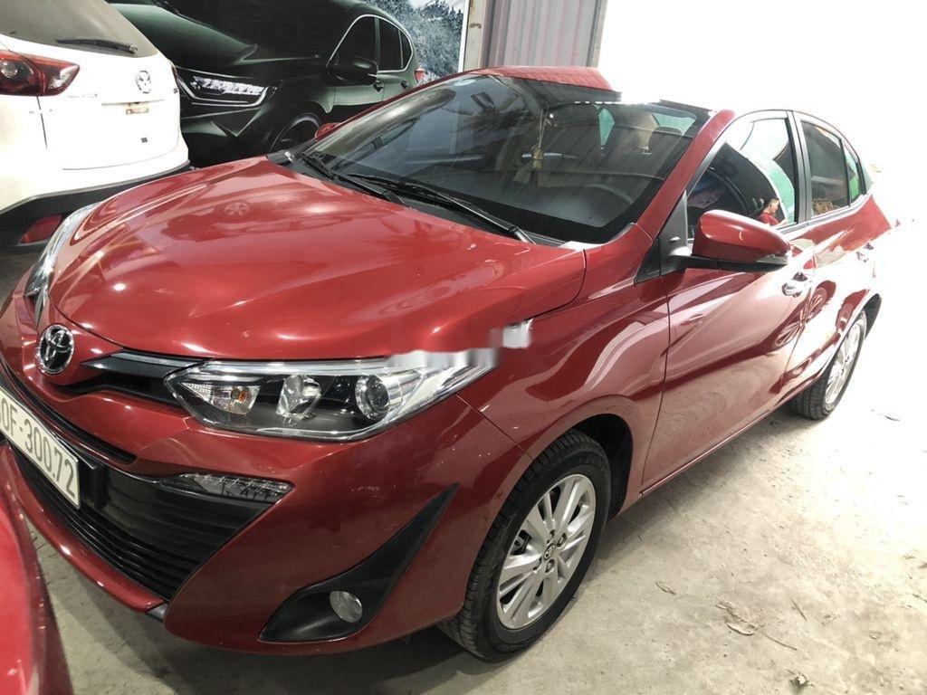 Cần bán xe Toyota Vios sản xuất 2018, màu đỏ còn mới (5)