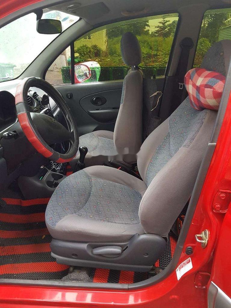 Bán ô tô Daewoo Matiz đời 2005, màu đỏ, nhập khẩu nguyên chiếc còn mới, giá 130tr (7)