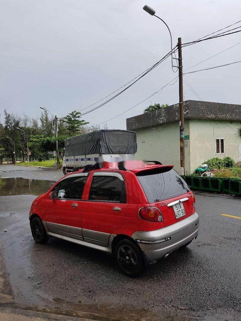 Bán ô tô Daewoo Matiz đời 2005, màu đỏ, nhập khẩu nguyên chiếc còn mới, giá 130tr (4)