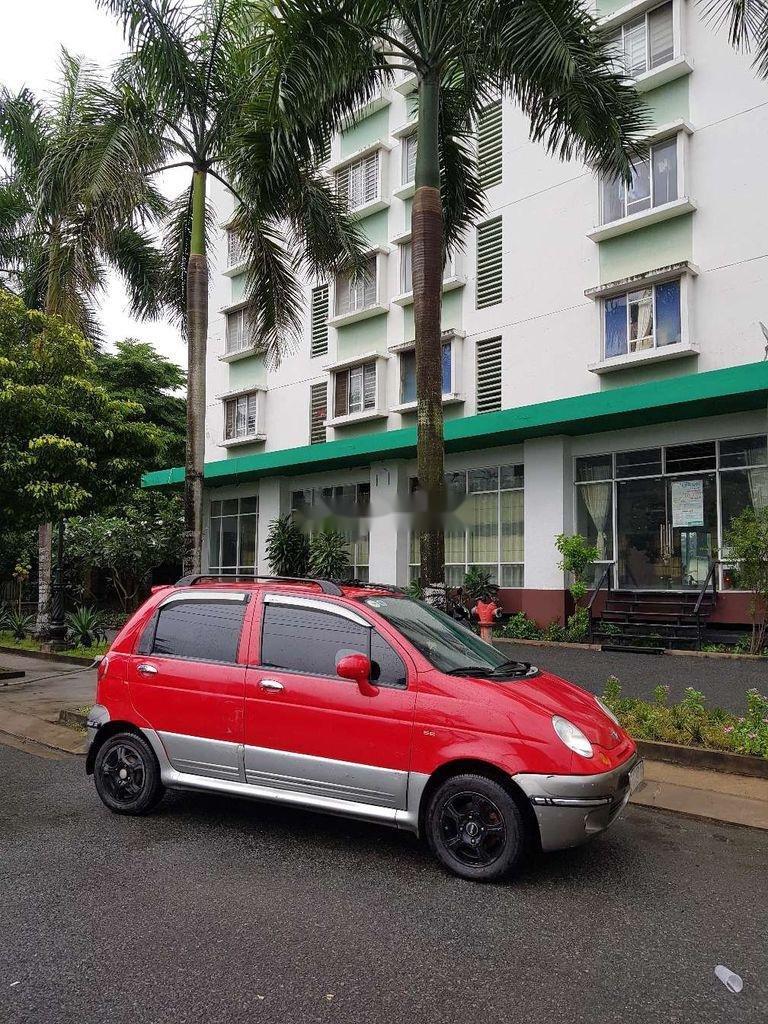 Bán ô tô Daewoo Matiz đời 2005, màu đỏ, nhập khẩu nguyên chiếc còn mới, giá 130tr (2)