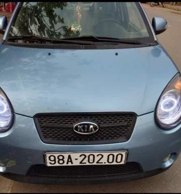 Cần bán Kia Morning sản xuất năm 2008, màu xanh lam, xe nhập còn mới (1)