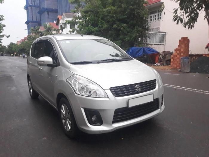 Bán Suzuki Ertiga 2016, màu bạc  (1)