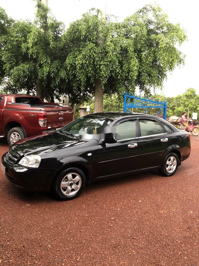 Cần bán Daewoo Lacetti đời 2009, màu đen (1)