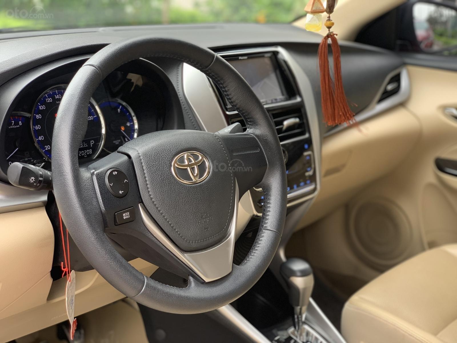 Bán Toyota Vios G 1.5AT sản xuất 2018, xe đẹp xuất sắc (8)