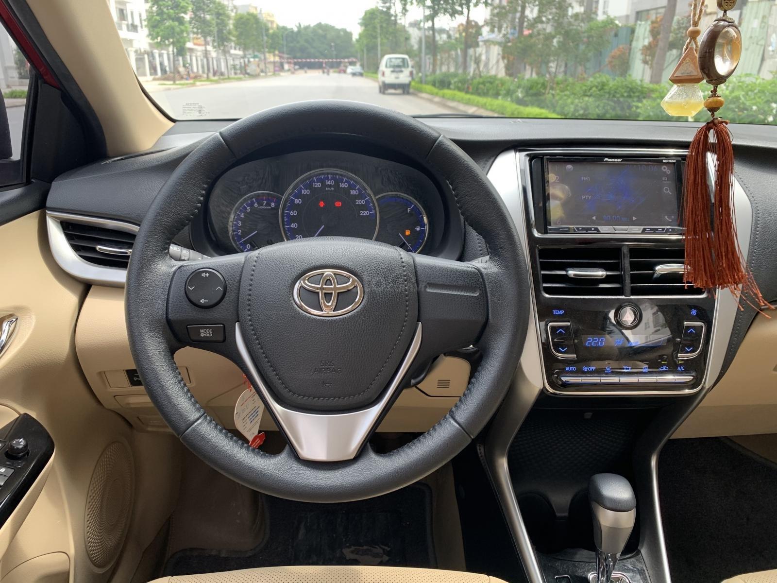Bán Toyota Vios G 1.5AT sản xuất 2018, xe đẹp xuất sắc (9)